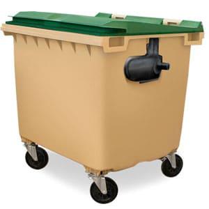 contenedor transportable con 4 ruedas