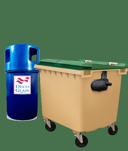 papeleras y contenedores