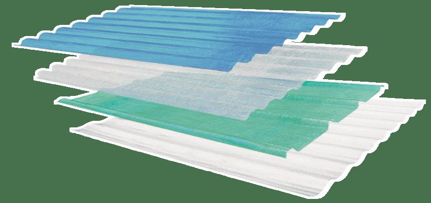 láminas plásticas para techos