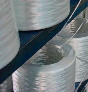 Mat de fibra de vidrio