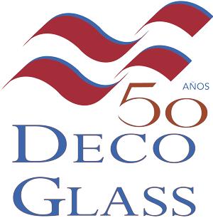 Deco Glass logo aniversario